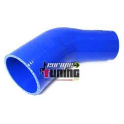 REDUCTEUR SILICONE Ø76mm a 63mm 45° (03637)