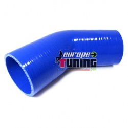 COUDE SILICONE 102/102mm 45° Ø76mm (03657)