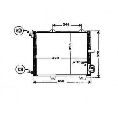 condenseur IGNIS03- 420x325x16
