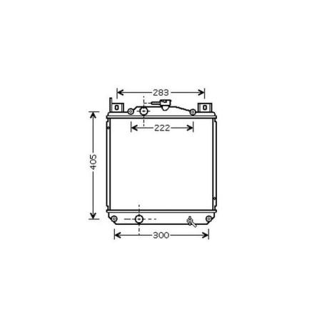Radiateur SWIFT SF 41395- 330x350