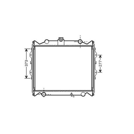 Radiateur refroidissement du moteur Toyota Landcruiser J9 / J10 96-02