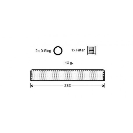 filtre deshydrateur RAV 400-10/05