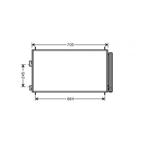 condenseur RAV 406- 675x415mm