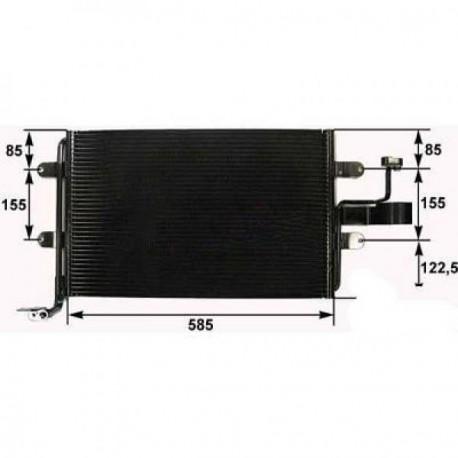 condenseur GOLF 4 110KW TDI