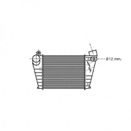 Radiateur Air GOLF IV 97-03 190x183x30