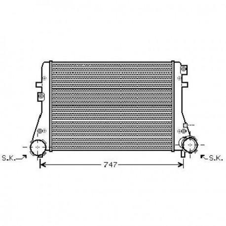 Radiateur d'air GOLF V03-