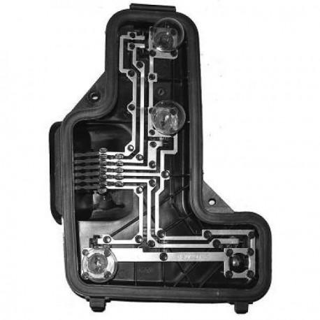 Support de lampe feu arrière gauche (Côté conducteur) Seat Arosa 97-00 (Typ 6H)