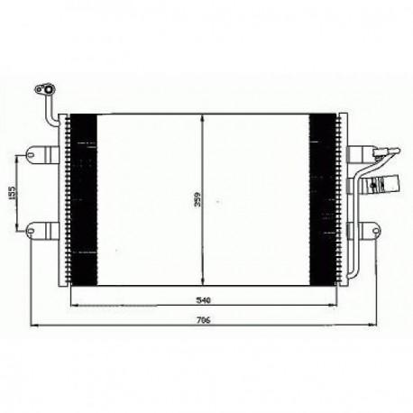 condenseur IBIZA99- tous mod.