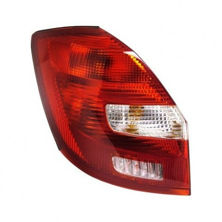 Feu arrière gauche (Côté conducteur) Skoda Fabia 07-10 (3 / 4 / 5 portes)