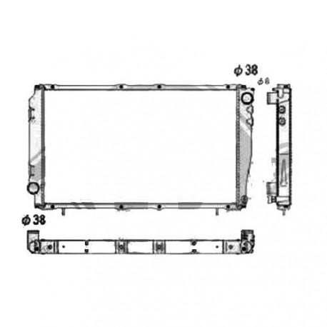 Radiateur refroidissement du moteur Subaru Impreza 93-01
