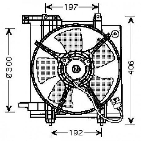 Motoventilateur LEGACY98-03