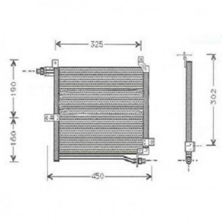 condenseur ALTO III95-00 325x320x16