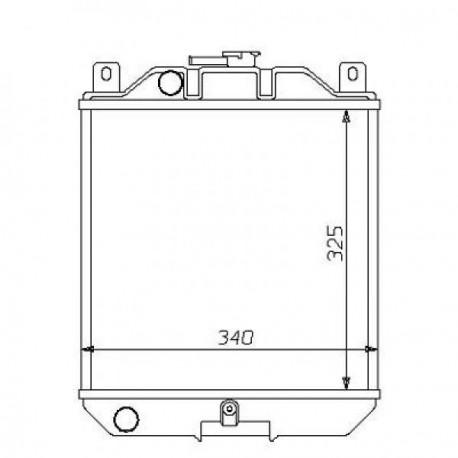 Radiateur eau SWIFT SF41389-94 330x325