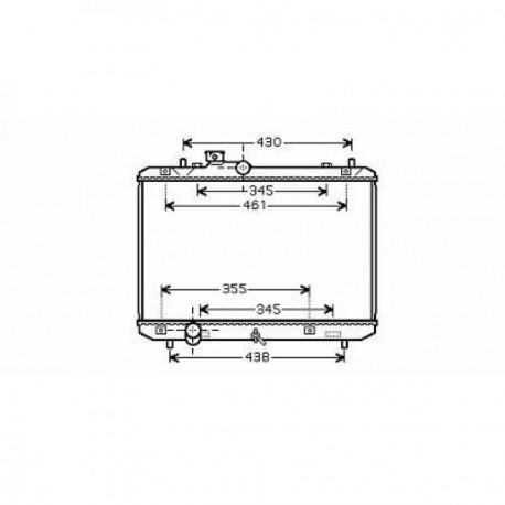 Radiateur refroidissement du moteur Suzuki Swift 05-10