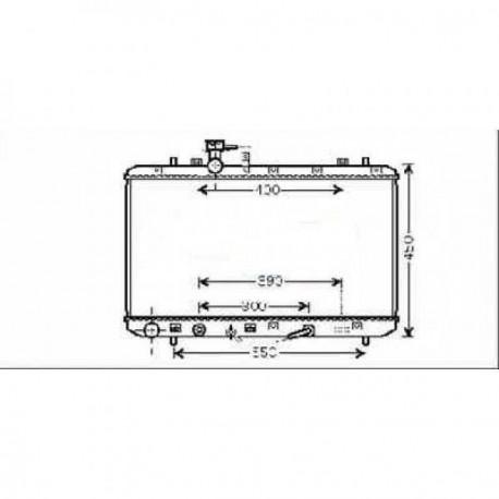 Radiateur refroidissement du moteur Start