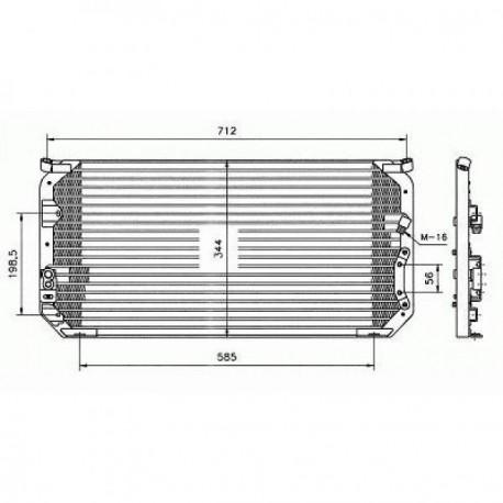 condenseur COROLLA91-97 730x340