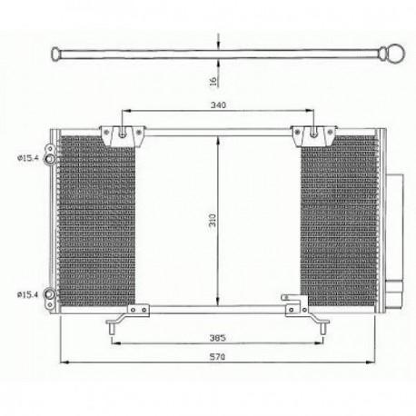 condenseur AVENSIS T2297- 570x310