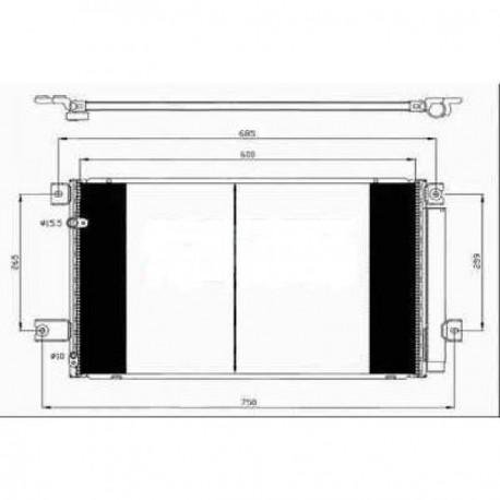 condenseur AVENSIS05-