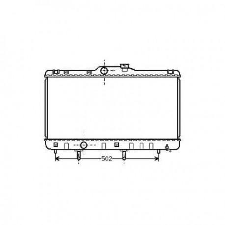 Radiateur refroidissement du moteur Toyota Corolla Typ:E11 99-02