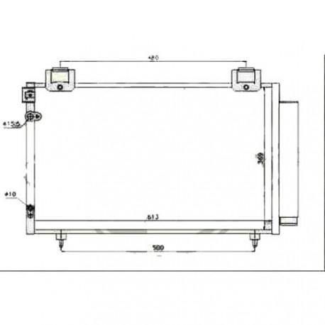 condenseur COROLLA VERSO03- 607x370