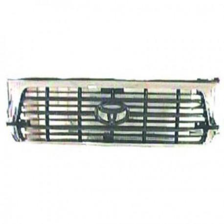Grille LANDCRUISER95-97 chrome/noir