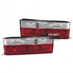 LOT DE 2 FEUX ARRIERES ROUGE CRISTAL BMW SERIE 3 E30 PHASE 1 (10264)