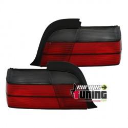FEUX LEXUS TUNING ROUGE / NOIR BMW E36 COUPE / CABRIOLET (10010)