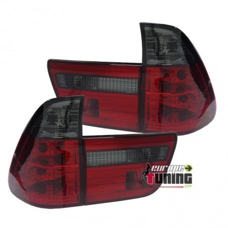 FEUX TUNING ROUGES NOIRS POUR BMW X5 (03435)