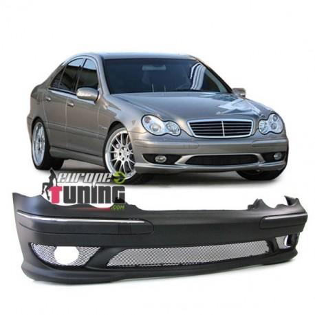 Pare Choc Look Amg C32 Mercedes Classe C W203 00 04 Pas Pdc 02333