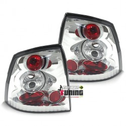FEUX ARRIERES TUNING LEXUS CHROME OPEL ASTRA G BERLINE (11523)