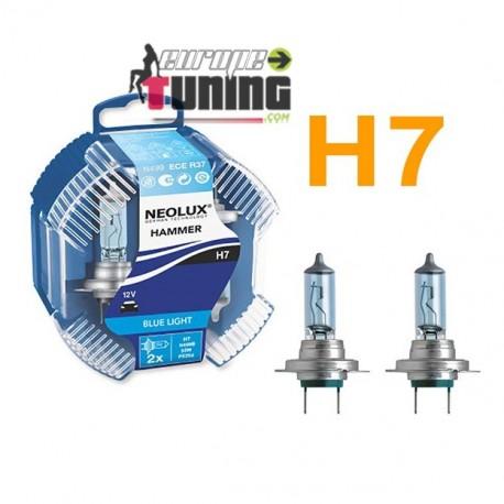 2 AMPOULES H7 55W BLUE (01006)