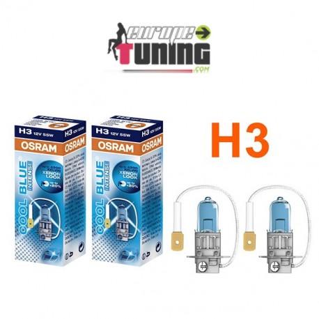 2 AMPOULES OSRAM H7 55W BLUE INTENSE (01027)