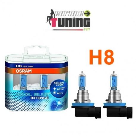 2 AMPOULES OSRAM H8 35W BLUE INTENSE (14125)