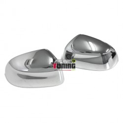 2 COQUES COUVRE RETROVISEURS CHROMEES BMW X5 TYPE F15 (04325)