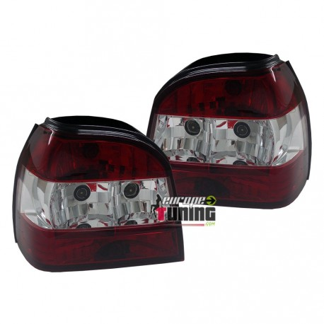FEUX TUNING CRISTAL ROUGE GOLF 3 (13193)