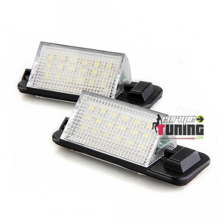 LEDS PLAQUE IMMATRICULATION BMW SERIE 3 E36 BERLINE COUPE CABRIOLET TOURING COMPACT (04731)