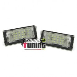 2 LEDS DE PLAQUE IMMATRICULATION BMW SERIE 3 E46 BERLINE TOURING (04745)