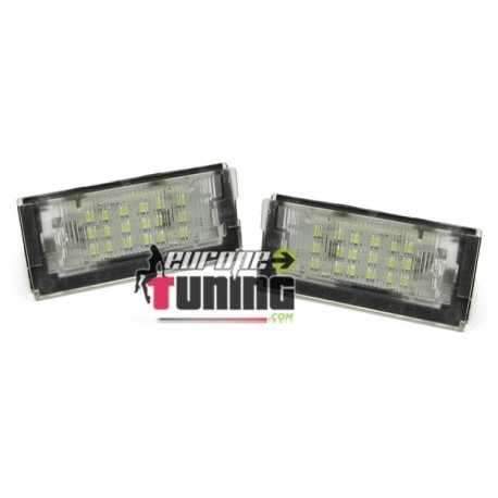 LEDS PLAQUES IMMATRICULATIONS E46 COUPE (00118)