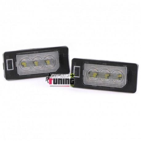 2 LEDS DE PLAQUE IMMATRICULATION POUR DIVERSES BMW (04746)