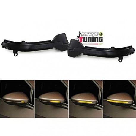 CLIGNOTANTS DE RETROVISEURS A LEDS DYNAMIQUES BMW SERIE 5 - SERIE 6 - SERIE 7 F10 F12 F01 ... (04826)