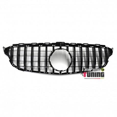 CALANDRE LIGNE AMG GT R FULL BLACK MERCEDES CLASSE C 205 2014-2018 PH1 (05200)
