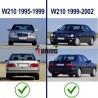 CALANDRE INTERIEURE W210 95-99  (00187)