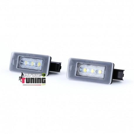FEUX PLAQUE IMMATRICULATION FULL LED PEUGEOT 207 CC 208 308 CITROEN C5 DS4 (05350)