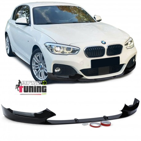 LAME BECQUET SPOILER NOIR BRILLANT BMW SERIE 1 F20 F21 PACK M 2015-2020 PH2 (05394)
