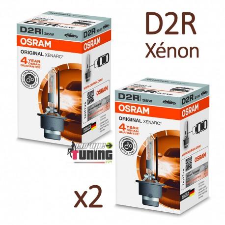 2 AMPOULES XENON D2R OSRAM XENARC ORIGINAL 4500K 35W 85V (05440)