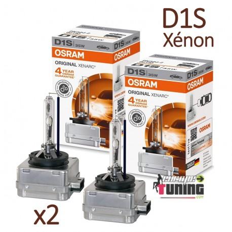 2 AMPOULES XENON D1S OSRAM XENARC ORIGINAL 4500K 35W 85V (05461)