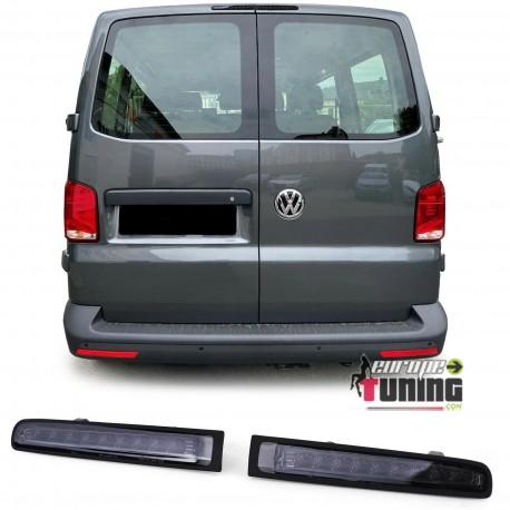 3EME FEU STOP NOIR A LED POUR VW VOLKSWAGEN T5 & T6 DOUBLE PORTES (05501)